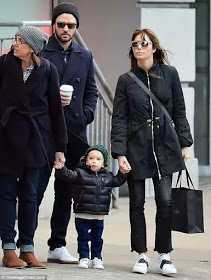 Justin Timberlake and wife Jessica Biel explore New York City with their cute son (Photos)